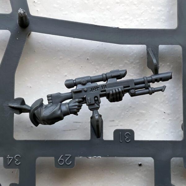 Sniper Rifle Cadian Upgrade