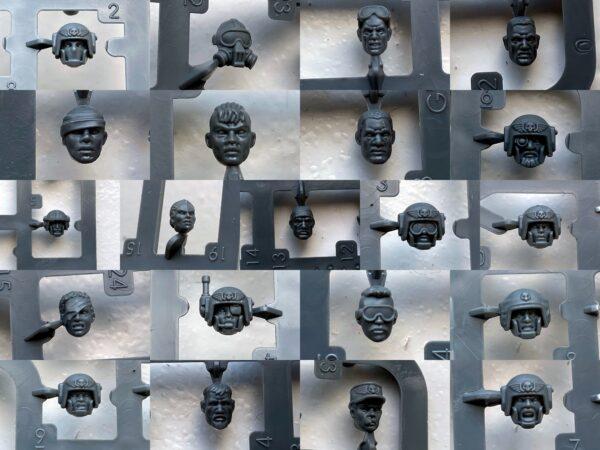 Cadian Heads
